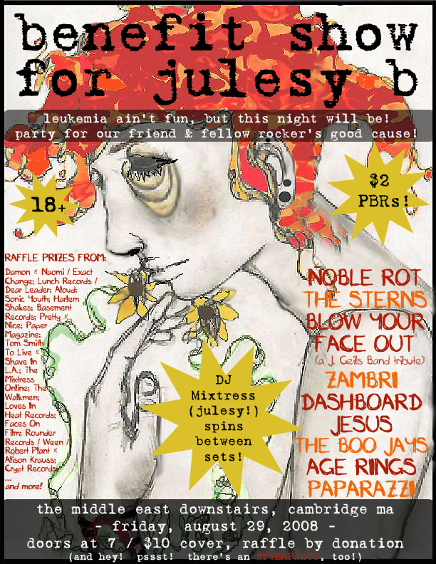 Benefit for Mixtress Julesy B